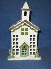 Partylite Village Square Chapel Fragrance Warmer - Nib