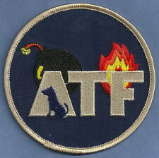 ATF EXPLOSIVES DETECTION K-9 UNIT POLICE PATCH