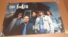 The Feelies Time For a Witness 1991 Promo Original Poster Rare 24x36
