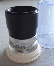 Vintage Camera Lens Schneider Kreuznach Germany f 4 135 mm Tele Xenar and Case