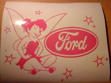 tinkerbell fairy dust pink girls vinyl car sticker novelty fun jdm stars wallart