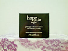 Philosophy Hope in a Jar Night Moisturizer (8 oz) Brand New & Sealed in Box