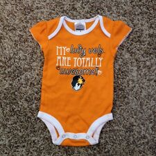 NEW Tennessee Vols Orange Baby Infant 3 - 6 Months One Piece Jumper Outfit Shirt