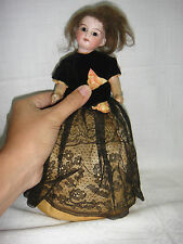 Antique Original Bisque Head Doll 12/0 Open Mouth and teeth