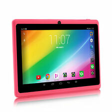 "iRULU 7"" Android 6.0 Tablet PC Quad Core 16GB 3G+WIFI HD GMS Dual Cameras Pink"