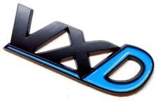 VXD BADGE Black & Blue Corsa D Astra Stivale PORTELLONE POSTERIORE OPEL VAUXHALL non Chrome VXR