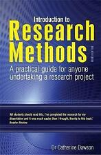 Introduction to Research Methods 4th Edition: A Practical Guide for Anyone Unde…