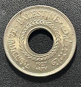 Palestine 1927 5 Mils Coin: UNC  Condition