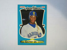 1990 Fleer Award Winners # 16 Ken Griffey Jr Card (B19) Seattle Mariners