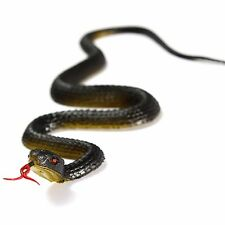 Soft Rubber Fake Snake Garden Props Pretend Toy GAG Joke Prank Trick Halloween