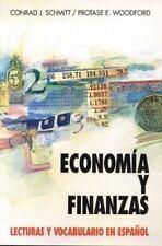 Economia Y Finanzas: Lecturas Y Vocabulario En Espa?ol Economics and Finance