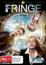 Fringe : Season 3 (DVD, 2011, 6-Disc Set) Anna Torv, Joshua Jackson, John Noble