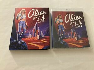 Alien from L.A. (Blu-ray, 1988) Vinegar Syndrome, With Slipcover