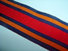 MEDAL RIBBON-OLD COTTON RIBBON FOR THE BRITISH WW2 BURMA STAR MEDAL