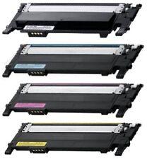 4 Color Toner Cartridge for Samsung 406 CLT-406S SL-C460FW, Xpress C460FW C460W