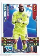 2015 / 2016 EPL Match Attax Base Card (92) Tim HOWARD Everton