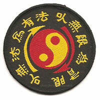 10PC Embroidered Bruce Lee Kung Fu JKD Wing chun Sew on Patche Ying Yang Badge