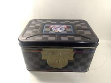 Nascar 50th Anniversary Collectible Tin Toy Chest hd264