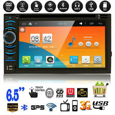"6.5"" HD Double 2DIN Android 4.4.4 Car Stereo Radio CD DVD Player WiFi 3G GPS USB"