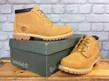 TIMBERLAND LADIES UK 6 EU 39 NELLIE CHUKKA DOUBLE NATURAL LEATHER BOOTS £125