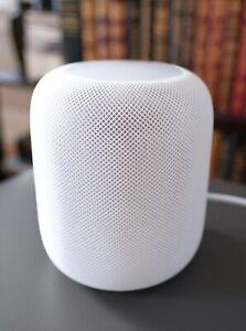 Apple HomePod Siri Voice Enabled Smart Speaker - White