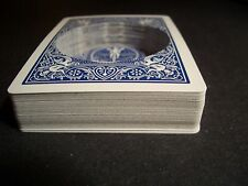 BICYCLE HOLLOW DECK - Secret Compartment, blue, hide object in deck of cards!