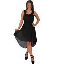 Vestiti da donna cocktail nera di pizzo