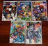 Marvel Comics Spider-Man Team-Up X-Men #1 2 5 6 7 Silver Surfer Hulk Dr Strange