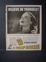 1951 Philip Morris Cigarettes Call for Johnny Hotel Page Vintage Print Ad 11262