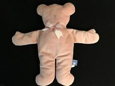 North American Teddy Bear Co. Pancake Pastel Pink Bear #3539