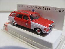 Busch 46803 Mercedes W 123 T-Modello cantare POMPIERI 1:87 h0 Nuova, Ovp