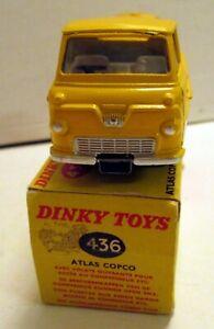 Dinky Toys 436 Atlas Copco Compressor Lorry,      original