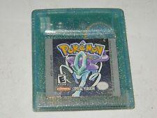 Pokemon Crystal Version for Nintendo Game Boy Color GBC (No save)