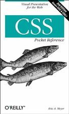 CSS Pocket Reference (Pocket Reference (O'Reilly)),Eric A. Meyer