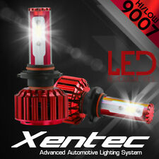 2x 9007 240W LED Headlight Light Car Kit 6000K White Hi/Lo Beams 24000LM Bulbs