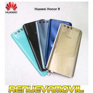 Tapa Trasera De Bateria Para Huawei Honor 9 Con Adhesivo Oro Azul Negra Plata