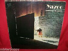 """YAZOO Don't go Re-Mixes 12"""" 45rpm LP 1982 UK MINT- YAZ001 Depeche Mode"""