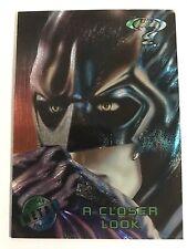 1995 DC Comics Batman Forever Metal Trading Card #90 A Closer Look