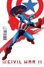 MARVEL COMICS CIVIL WAR II #2 STERANKO CAPTAIN AMERICA VARIANT EDITION 1ST PRINT