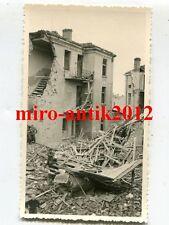 Foto, Bevölkerung in den Trümmern ihre Hauses Skopje, Mazedonien, (N)19215