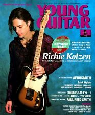 RICHIE KOTZEN DVD LESSON YOUNG GUITAR MAY 2002 MR BIG RARE JAPAN IMPORT NOS