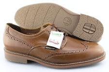 Men's MEPHISTO 'Waldo' Brown Leather Wingtip Oxfords Size US 10.5 EUR 10