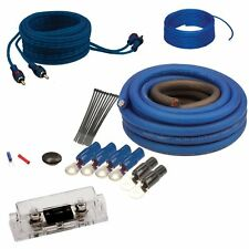 New Raptor R2AK4 4 AWG Guage Amplifier Wiring Kit With 100 Amp ANL Fuse