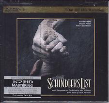 Schindler's List OST John Williams Itzhak Perlman Japan K2HD Audiophile CD New