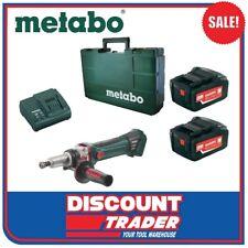 Metabo 18V 5.2Ah Lithium-Ion Cordless Die Grinder Kit - GA 18 LTX G - AU60063950