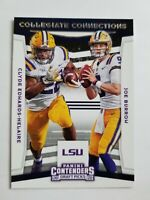 2020 Panini Contenders Draft Picks Collegiate Connections Insert Pick Your Card