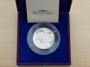 20 euro BE argent Piefort 2006 France 5 semaines en ballon J.Verne 500ex RARE PP