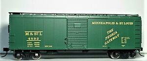 Bowser RTR HO 42725 M&StL Peoria Gateway 40' Boxcar #4892