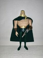 "DC Justice League Unlimited JLU AQUAMAN 10"" Action Figure Mattel 2003"
