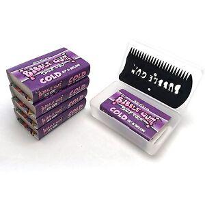Original 'Bubble Gum' Surf Wax - COLD (5 Pack) + Case and Comb